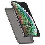 Spigen Air Skin iPhone XS Max hoesje Zwart
