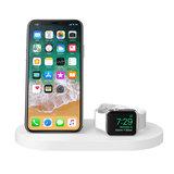 Belkin Boost draadloos iPhone + Watch oplaadstation Wit