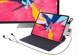 HyperDrive USB-C Mobile iPad Pro 6 in 1 hub met HDMI Grijs