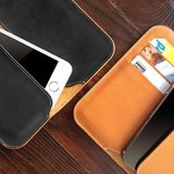 Incase Leather Wallet iPhone 5/5S/5C Brown_