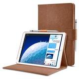Spigen Stand Folio iPad Air 2019 hoesje Bruin