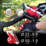 Bone Bike Tie Pro Pack universele telefoon fietshouder Zwart