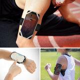 Bone Run Tie universele telefoon Sport armband Small Grijs