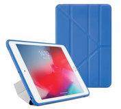 Pipetto Origami TPU iPad mini 2019 hoesje Blauw