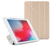 Pipetto Origami TPU iPad mini 2019 hoesje Goud