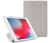 Pipetto Origami TPU iPad mini 2019 hoesje Zilver