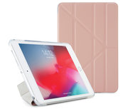 Pipetto Origami TPU iPad mini 2019 hoesje Luxe Roze