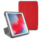 Pipetto Rugged Origami iPad Air 2019 10,5 inch hoesje Rood