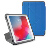 Pipetto Rugged Origami iPad Air 2019 10,5 inch hoesje Blauw