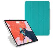 Pipetto Origami Luxe Folio iPad Pro 11 inch hoesje Turquoise