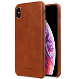 Melkco Leather backcover iPhone XS Max hoesje Bruin