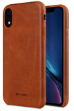 Melkco Leather backcover iPhone XR hoesje Bruin