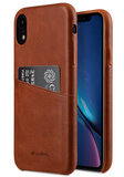 Melkco Leather Wallet backcover iPhone XR hoesje Bruin