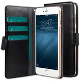 Melkco Wallet iPhone 6/6S hoesje Zwart