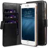Melkco Wallet iPhone SE 2020 / 8 hoesje Zwart