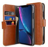 Melkco Wallet iPhone XR hoesje Bruin