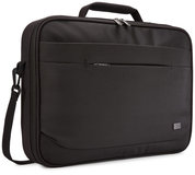 Case Logic Advantage Clamshell 15 inch schoudertas Zwart