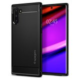 Spigen Rugged Armor Galaxy Note 10 hoesje Zwart