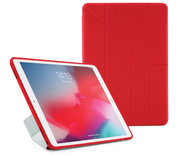 Pipetto Origami TPU iPad Air 2019 10,5 inch hoesje Rood