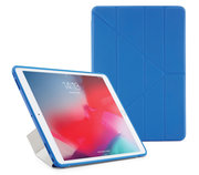 Pipetto Origami TPU iPad Air 2019 10,5 inch hoesje Blauw