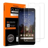 Spigen GlastR Glass Pixel 3A screenprotector 2 pack