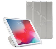Pipetto Origami TPU iPad Air 2019 10,5 inch hoesje Zilver