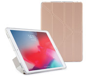 Pipetto Origami TPU iPad Air 2019 10,5 inch hoesje Rose Goud