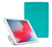 Pipetto Origami Luxe TPU iPad Air 2019 hoesje Turquoise