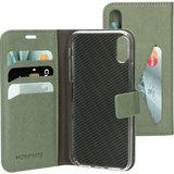 Mobiparts Classic Wallet iPhone XS / X hoesje Groen