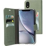 Mobiparts Classic Wallet iPhone XR hoesje Groen