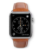 dbramante1928 Leather Apple Watch 40 / 38 mm Bandje Tan / Grijs