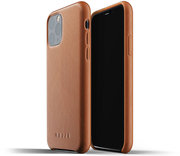 Mujjo Leather case iPhone 11 Pro hoesje Tan