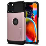 Spigen Slim Armor iPhone 11 Pro Max hoes Rose