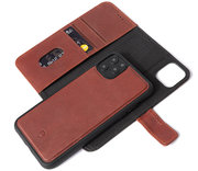 Decoded Leather 2 in 1 Wallet iPhone 11 Pro hoesje Bruin