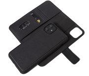 Decoded Leather 2 in 1 Wallet iPhone 11 hoesje Zwart