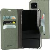 Mobiparts Saffiano Wallet iPhone 11 hoesje Groen