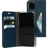 Mobiparts Classic Wallet iPhone 11 Pro Max hoes Blauw