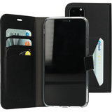 Mobiparts Classic Wallet iPhone 11 Pro Max hoes Zwart