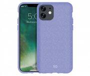 Xqisit Eco Flex milieuvriendelijk iPhone 11 hoesje Paars