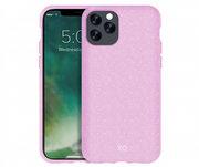 Xqisit Eco Flex milieuvriendelijk iPhone 11 Pro Max hoes Roze