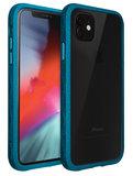 LAUT Crystal Matter iPhone 11 hoesje Blauw