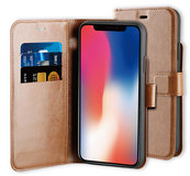 BeHello Gel Wallet iPhone 11 Pro hoesje Bruin