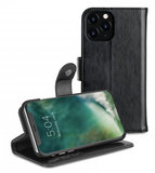Xqisit Wallet Eman 2 in 1 iPhone 11 Pro hoesje Zwart