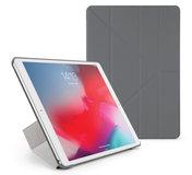 Pipetto Origami iPad 2019 10,2 inch hoesje Grijs