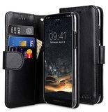 Melkco Wallet iPhone 11 hoesje Zwart
