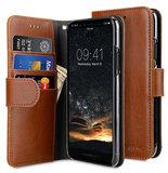 Melkco Wallet iPhone 11 hoesje Bruin