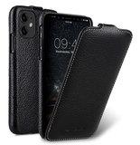 Melkco Leather Jacka iPhone 11 hoesje Zwart