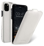 Melkco Leather Jacka iPhone 11 Pro hoesje Wit