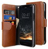 Melkco Wallet iPhone 11 Pro Max hoes Bruin