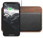 Nomad Walnut houten iPhone draadloos oplaadstation